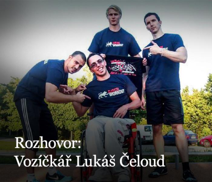 Rozhovor: Lítající vozíčkář Lukáš Čeloud